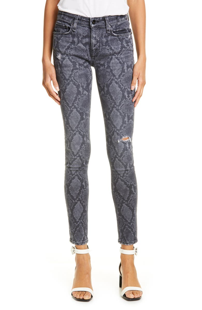 RAG & BONE Cate Ripped Ankle Skinny Jeans, Main, color, 020