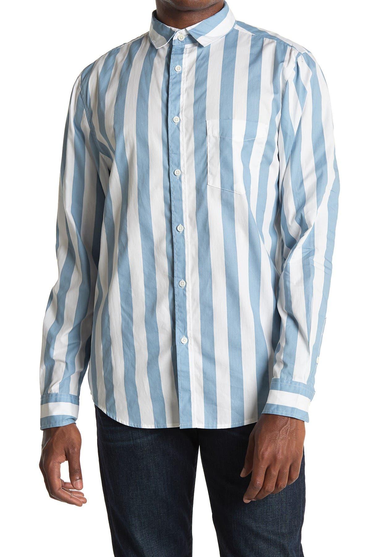 Image of Sovereign Code Mirage Stripe Print Shirt