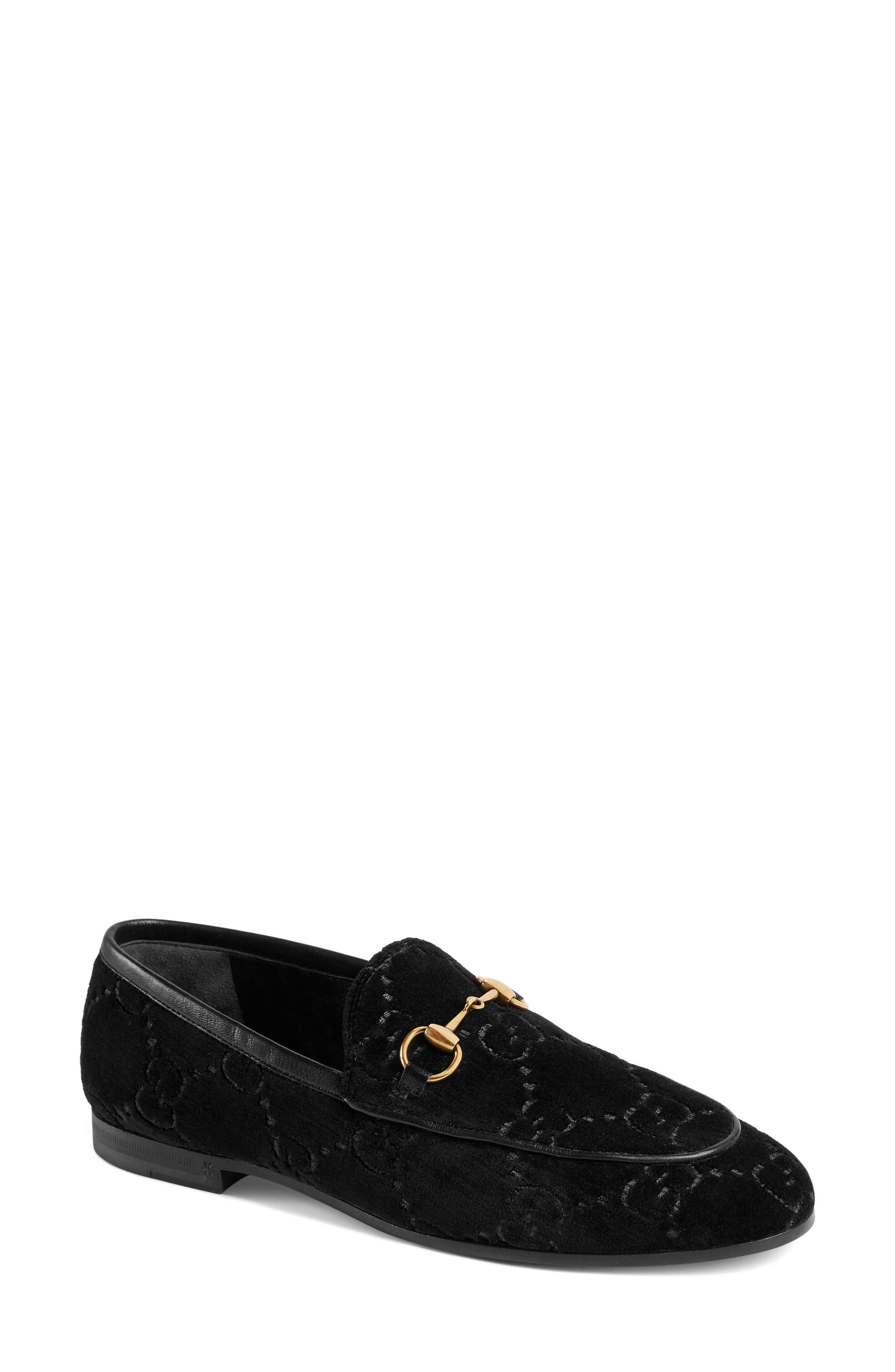 Gucci Jordaan Loafer, Black