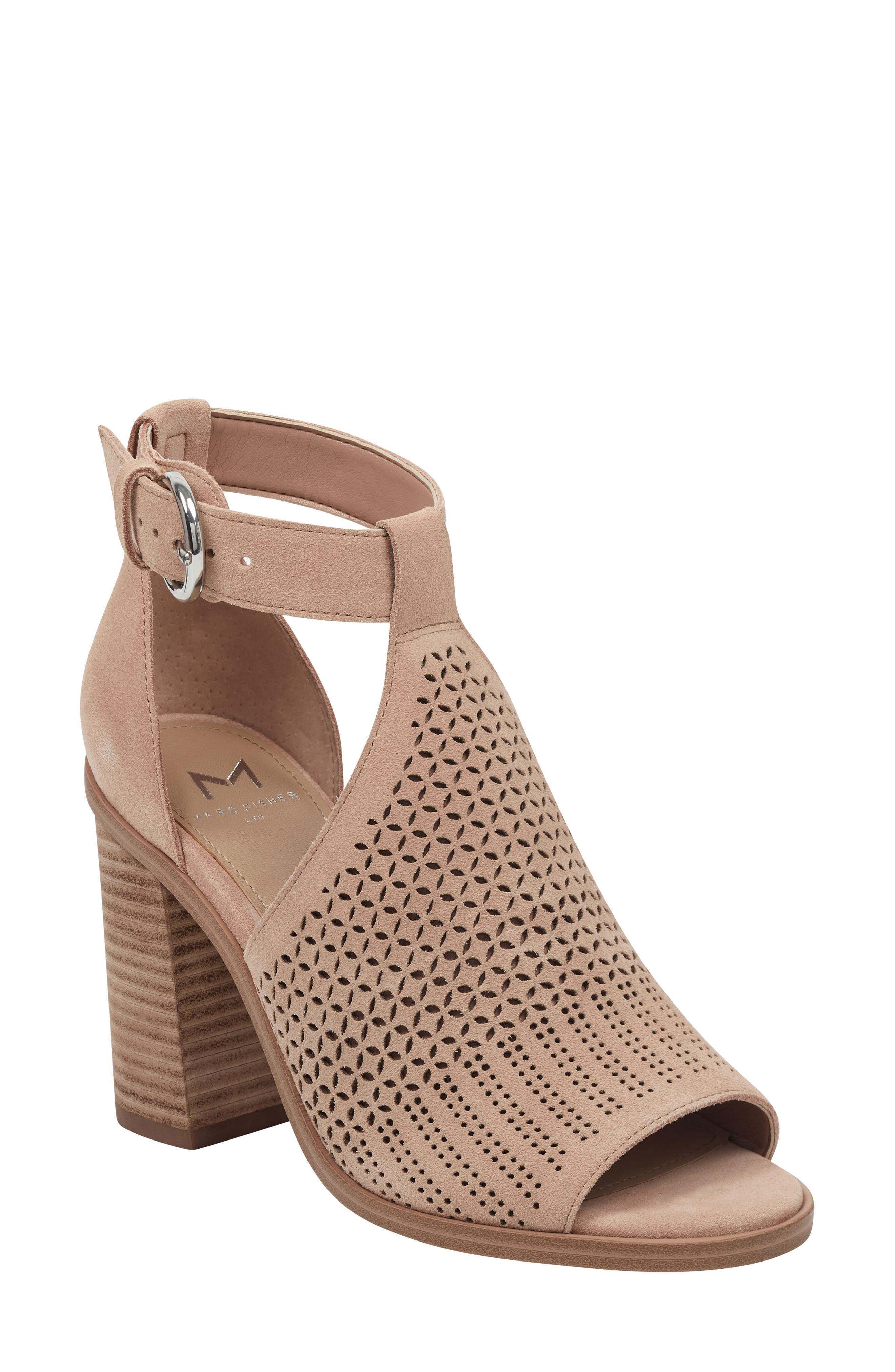 Marc Fisher Ltd Vixen Sandal- Beige