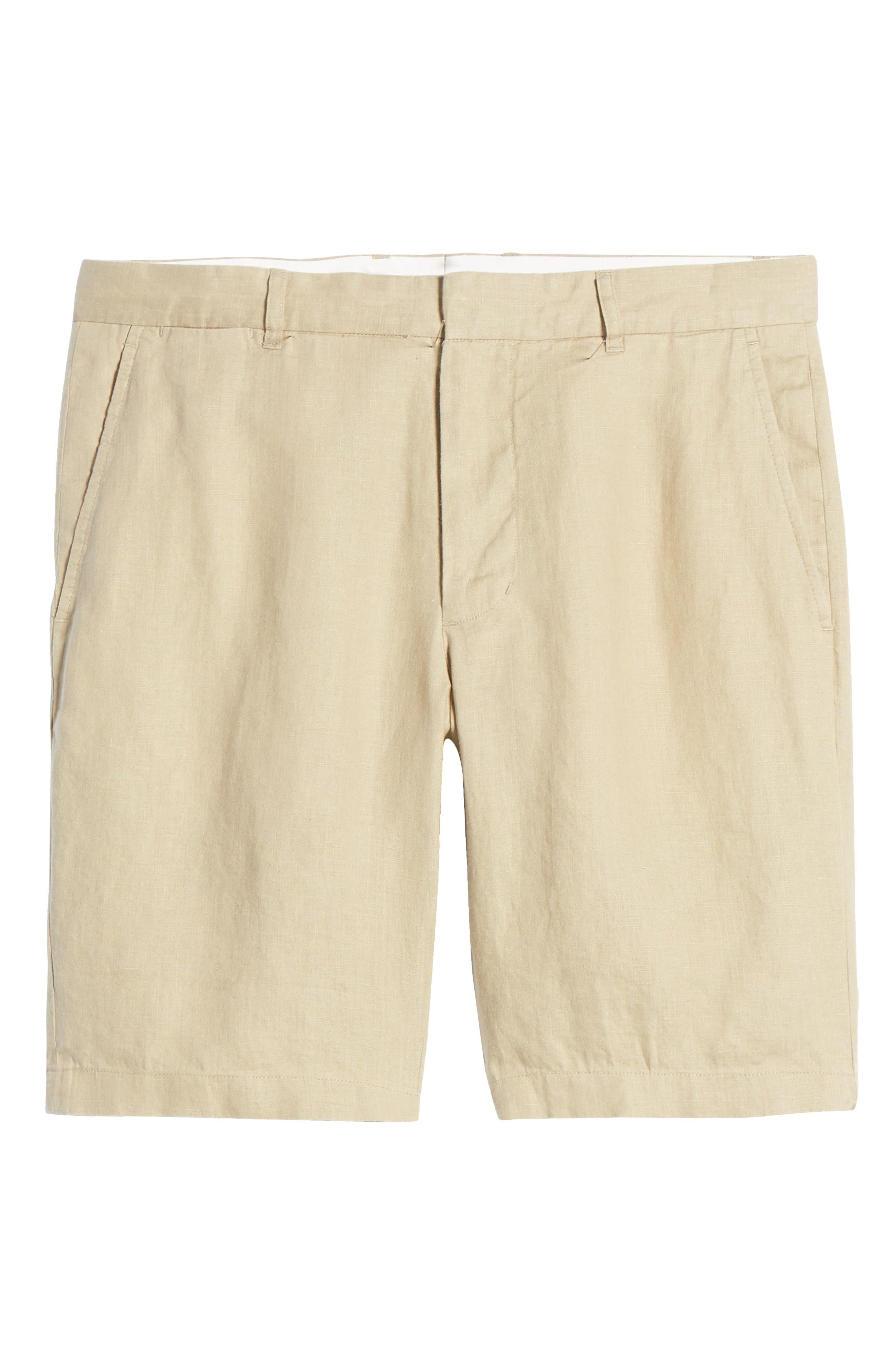 Image of Vince James Classic Slim Leg Hemp Shorts