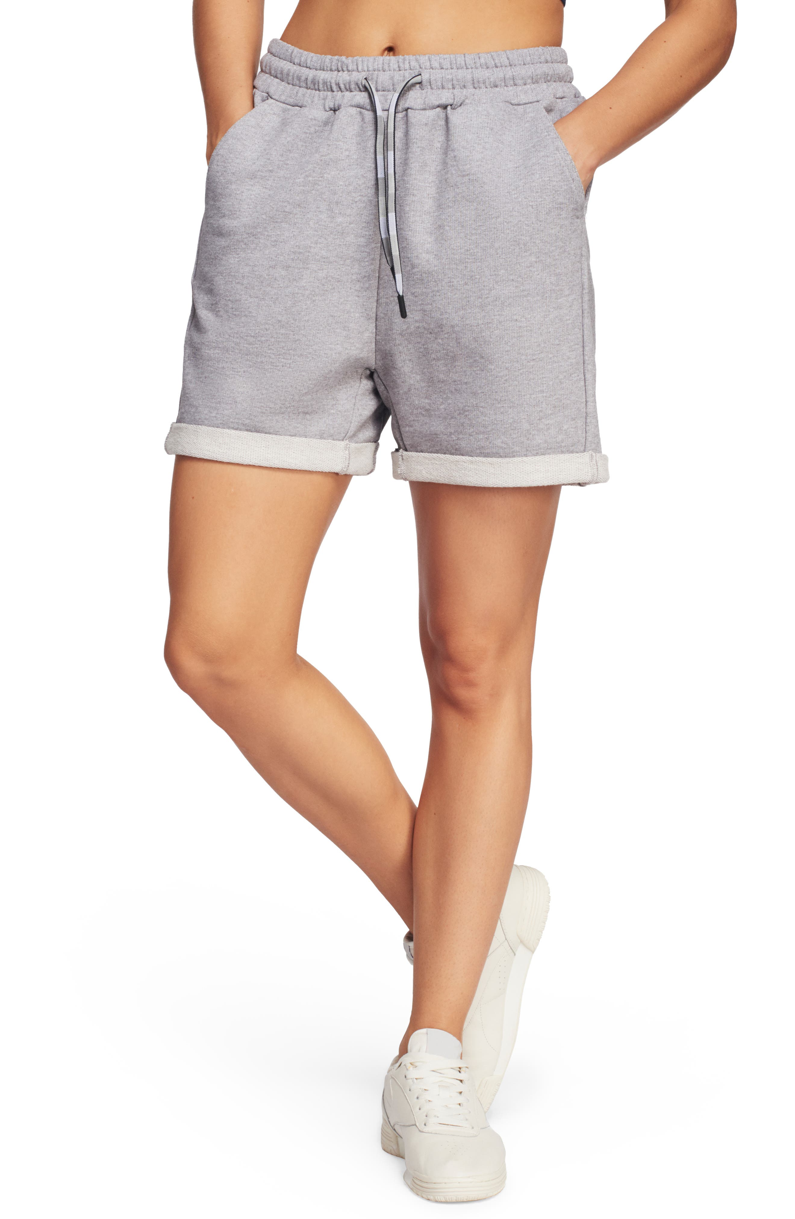Lndr Brisk Track Shorts, Grey