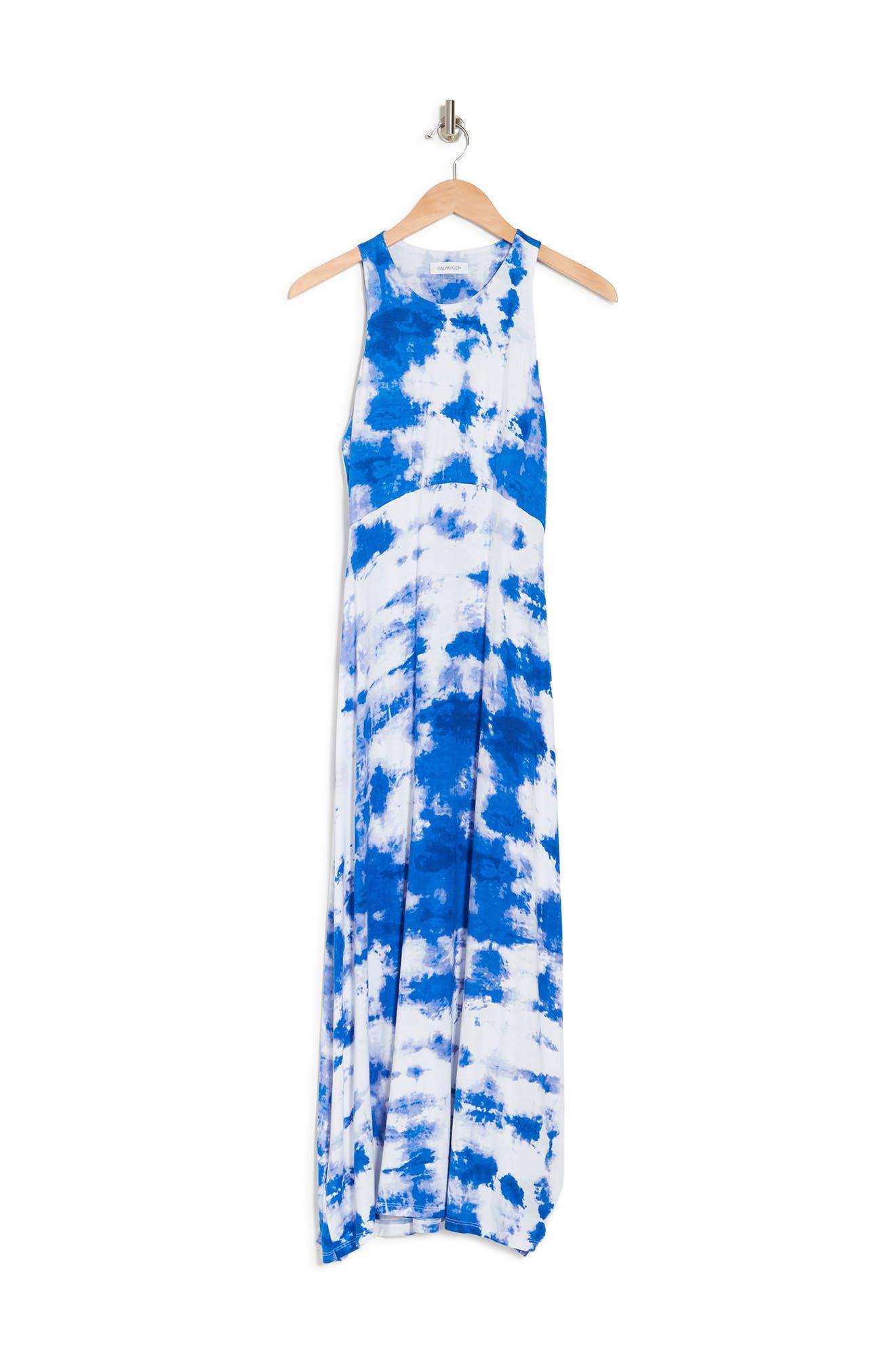 Calvin Klein TIE DYE MAXI DRESS