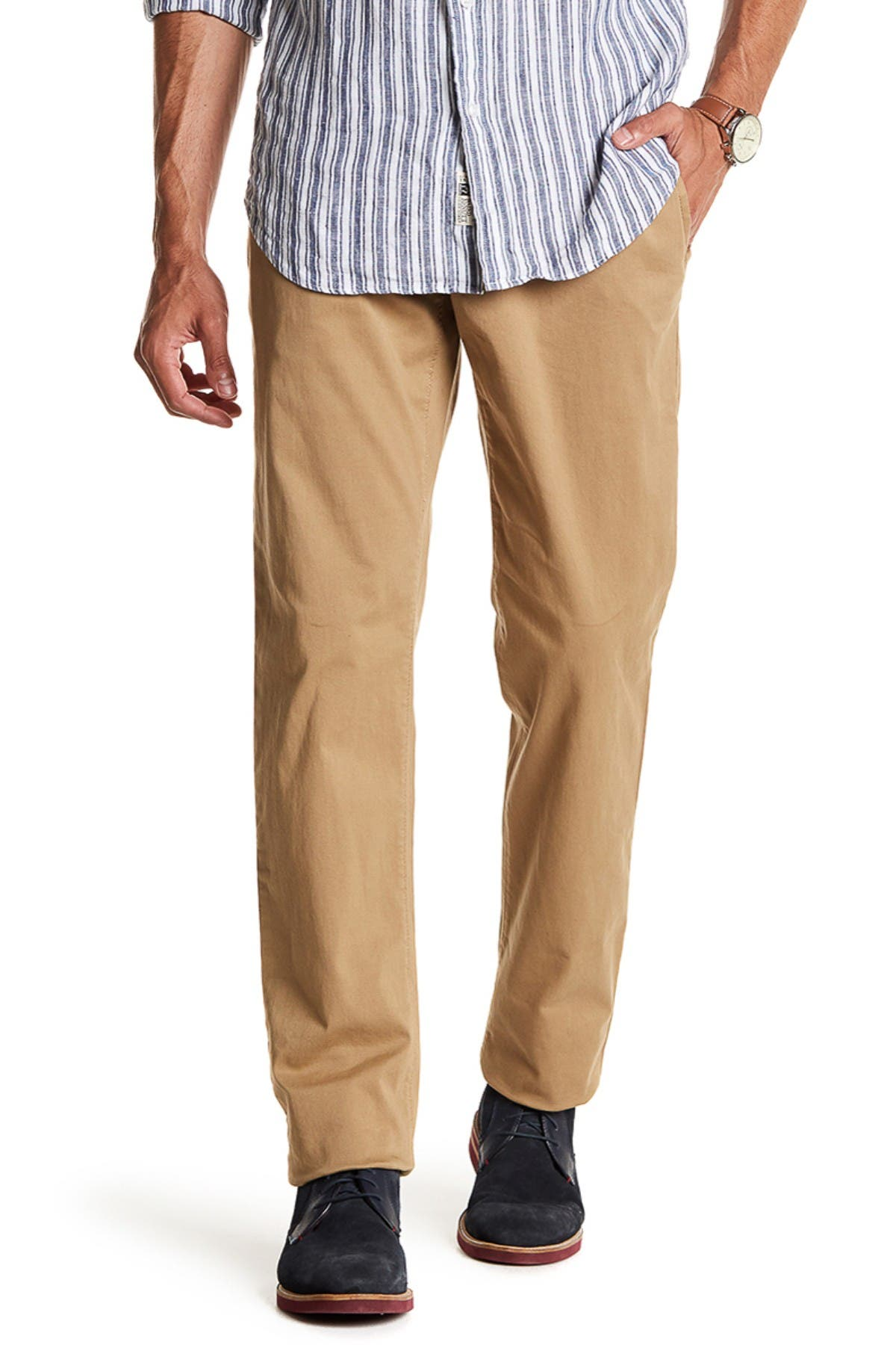 """Image of 14th & Union The Wallin Stretch Twill Chino Pants - 30-34"""" Inseam"""