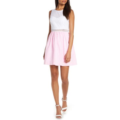 Lilly Pulitzer Alivia Sleeveless Fit & Flare Dress, Pink
