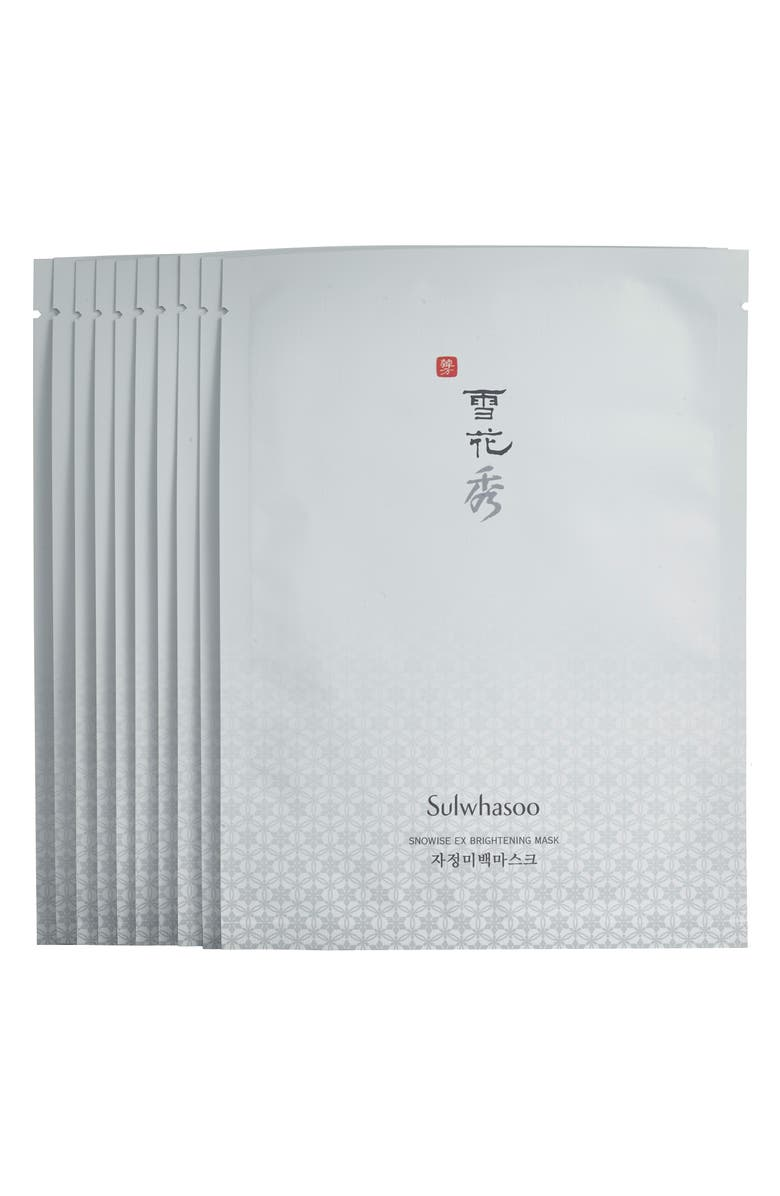 SULWHASOO Snowise Brightening Mask, Main, color, 000