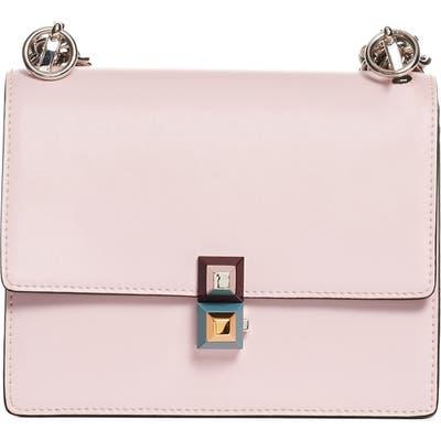 Fendi Small Kan I Leather Bag - Pink