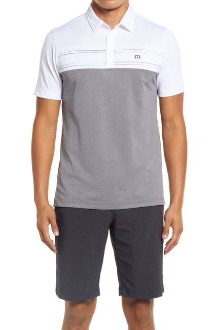 Image of TRAVIS MATHEW Properly Hydrated Slim Fit Polo
