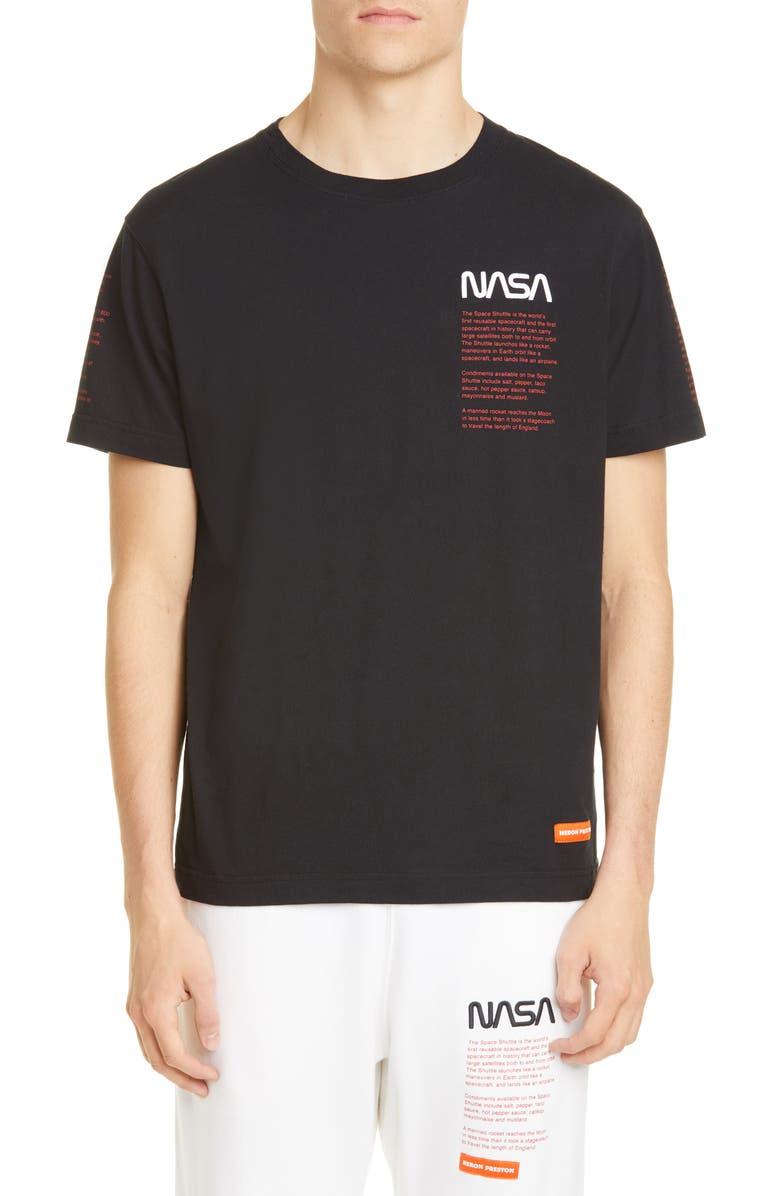 HERON PRESTON NASA Over T-Shirt, Main, color, BLACK MULTI