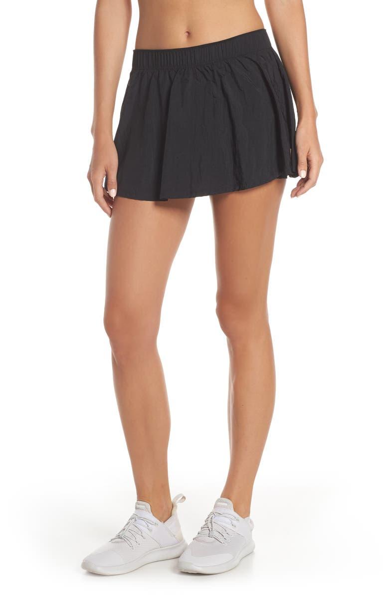 NIKE Flex Skirt, Main, color, 010