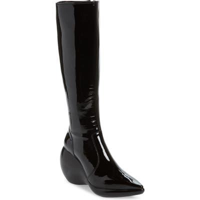 Jeffrey Campbell Rhombus Knee High Boot, Black