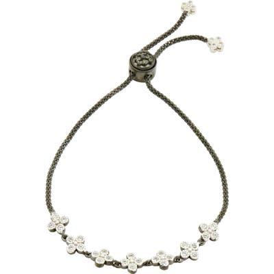 Freida Rothman Signature Clover Adjustable Bracelet