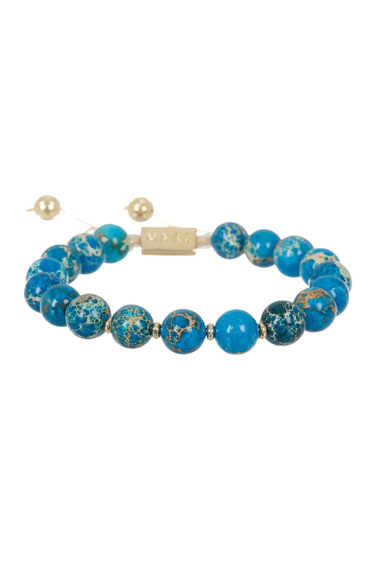 Image of Marz The Sea Foam Beaded Bracelet