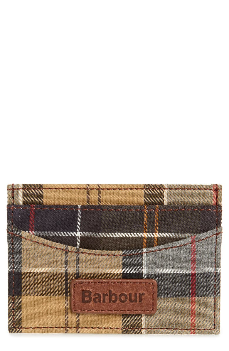 Barbour Mixed Tartan Card Case