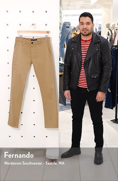 Johnny Slim Fit Twill Chino Pants, sales video thumbnail