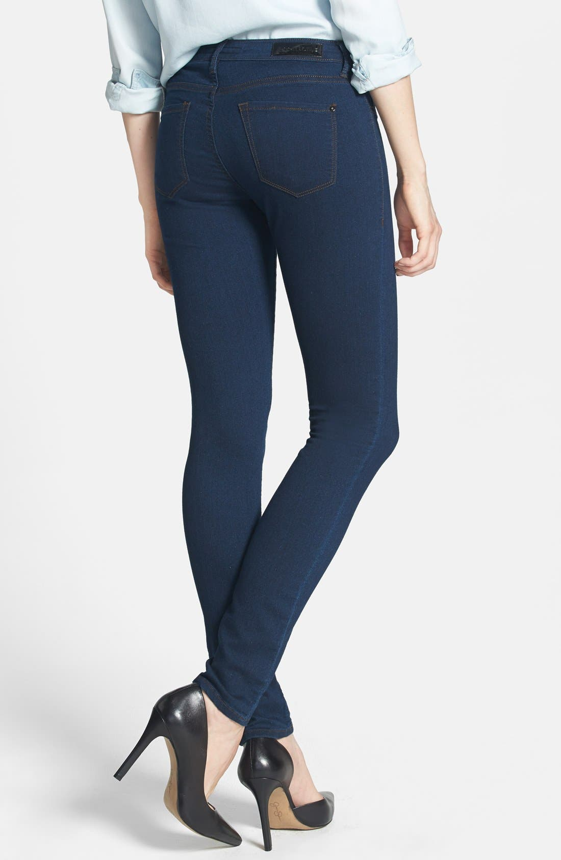 ,                             'Lola' Stretch Ultra Skinny Jeans,                             Alternate thumbnail 5, color,                             400