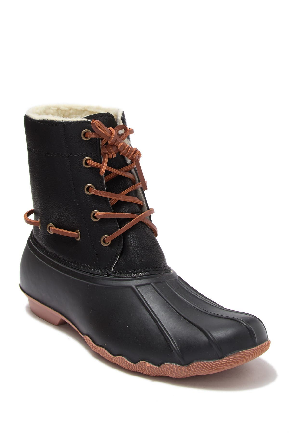 Image of Seven7 Hollis Faux Fur Lined Duck Boot