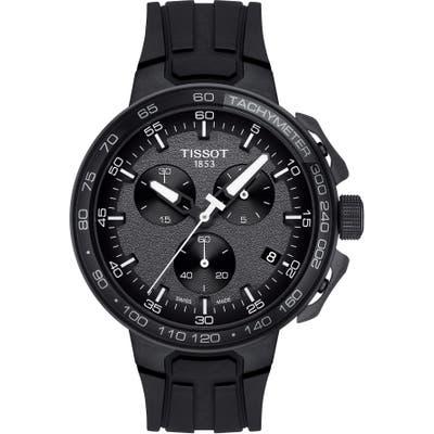 Tissot T-Race Cycling Chronograph Watch, 44.5Mm