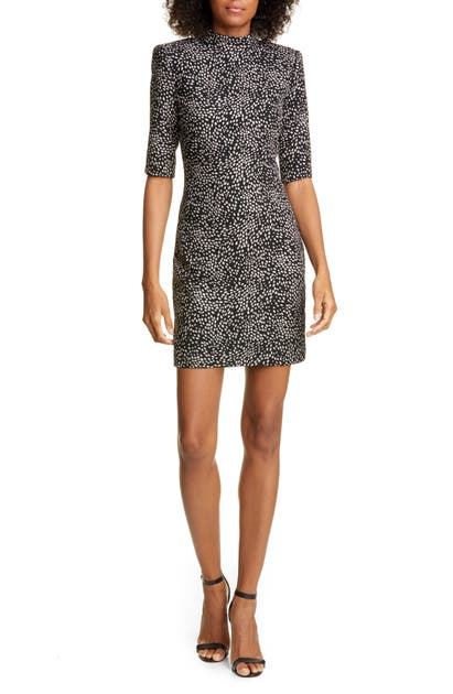 Alice And Olivia Dresses INKA MOCK NECK MINIDRESS