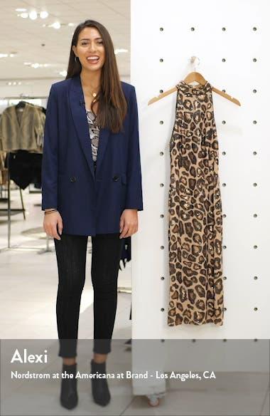 Sequin Cheetah Pattern Cocktail Dress, sales video thumbnail