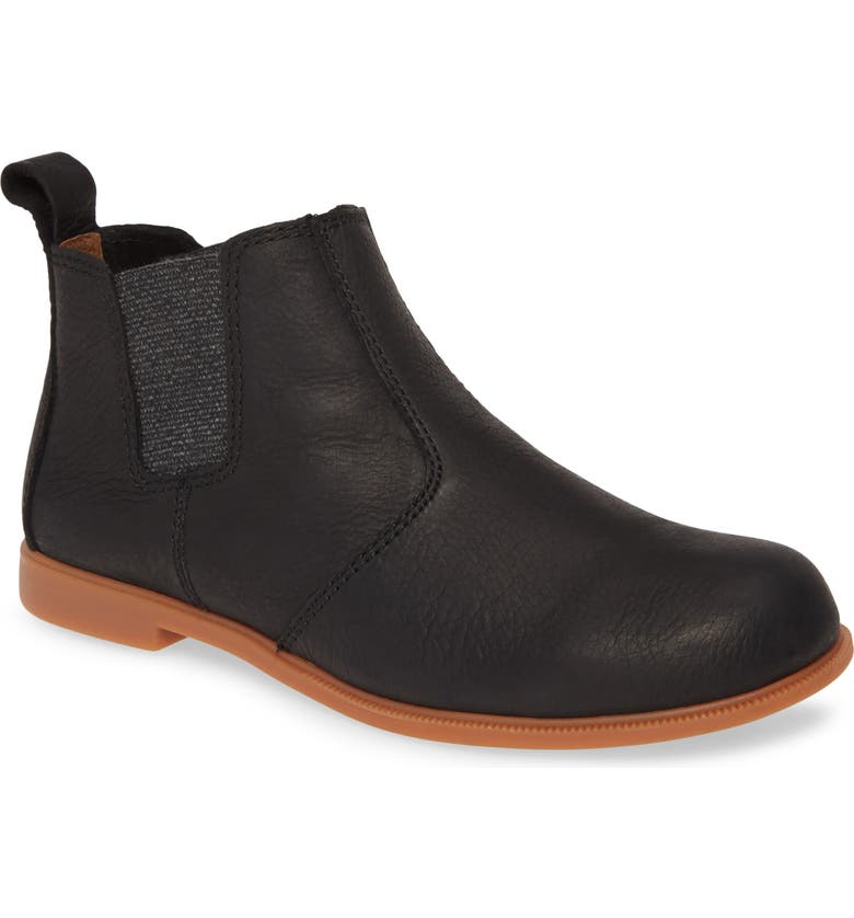 KODIAK Low Rider Chelsea Boot, Main, color, BLACK/ BLACK LEATHER