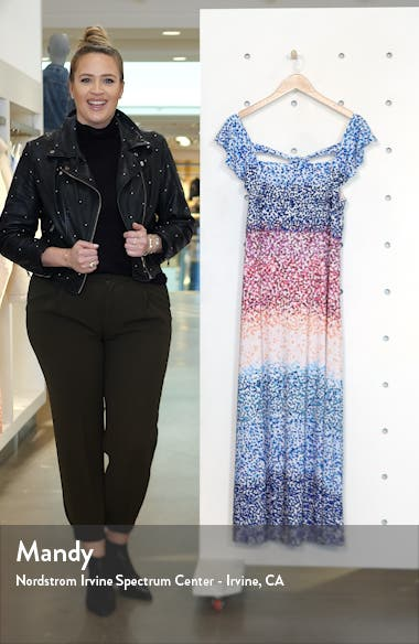 Ruffle Sleeve Maxi Dress, sales video thumbnail
