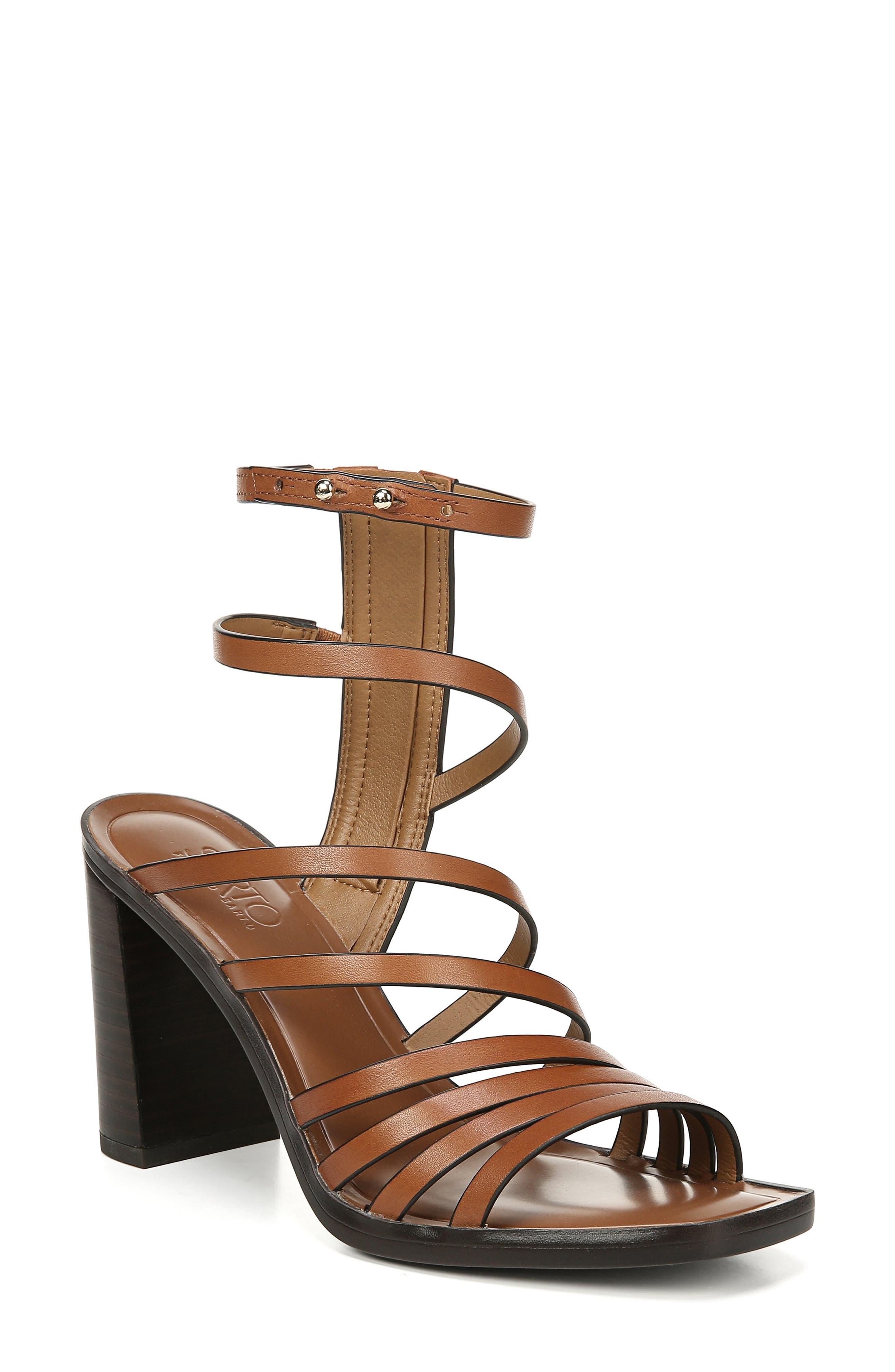 Sarto By Franco Sarto Winnie Strappy Sandal, Brown