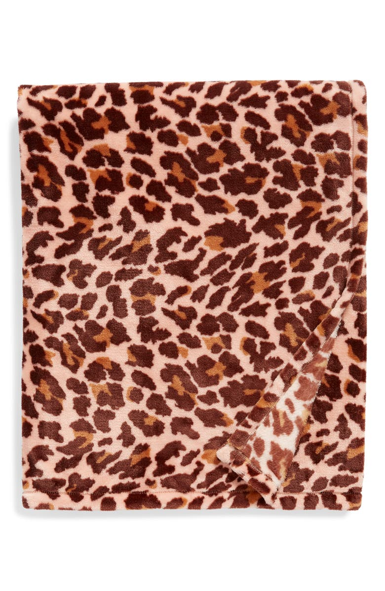 Print Plush Throw Blanket by Bp.