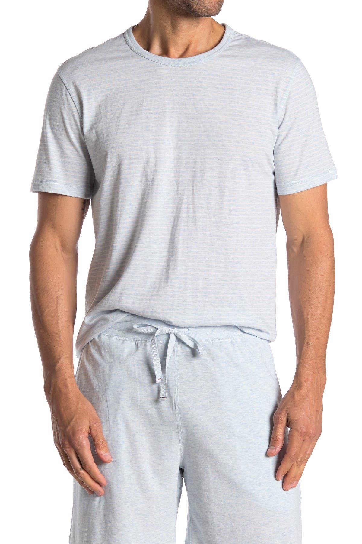 Image of Daniel Buchler Crew Neck Knit T-Shirt