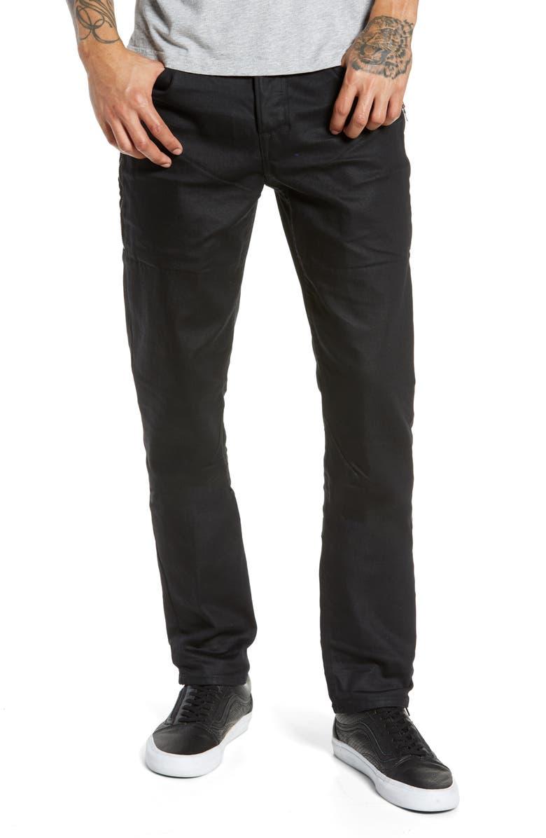 HUDSON JEANS Sartor Skinny Fit Jeans, Main, color, 001