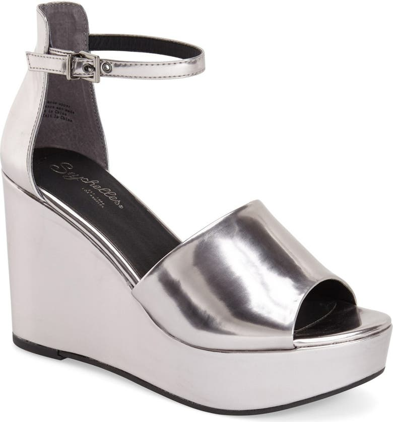 SEYCHELLES 'Upbeat' Wedge Sandal, Main, color, 022