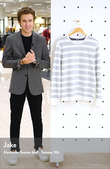 Stripe Long Sleeve T-Shirt, sales video thumbnail