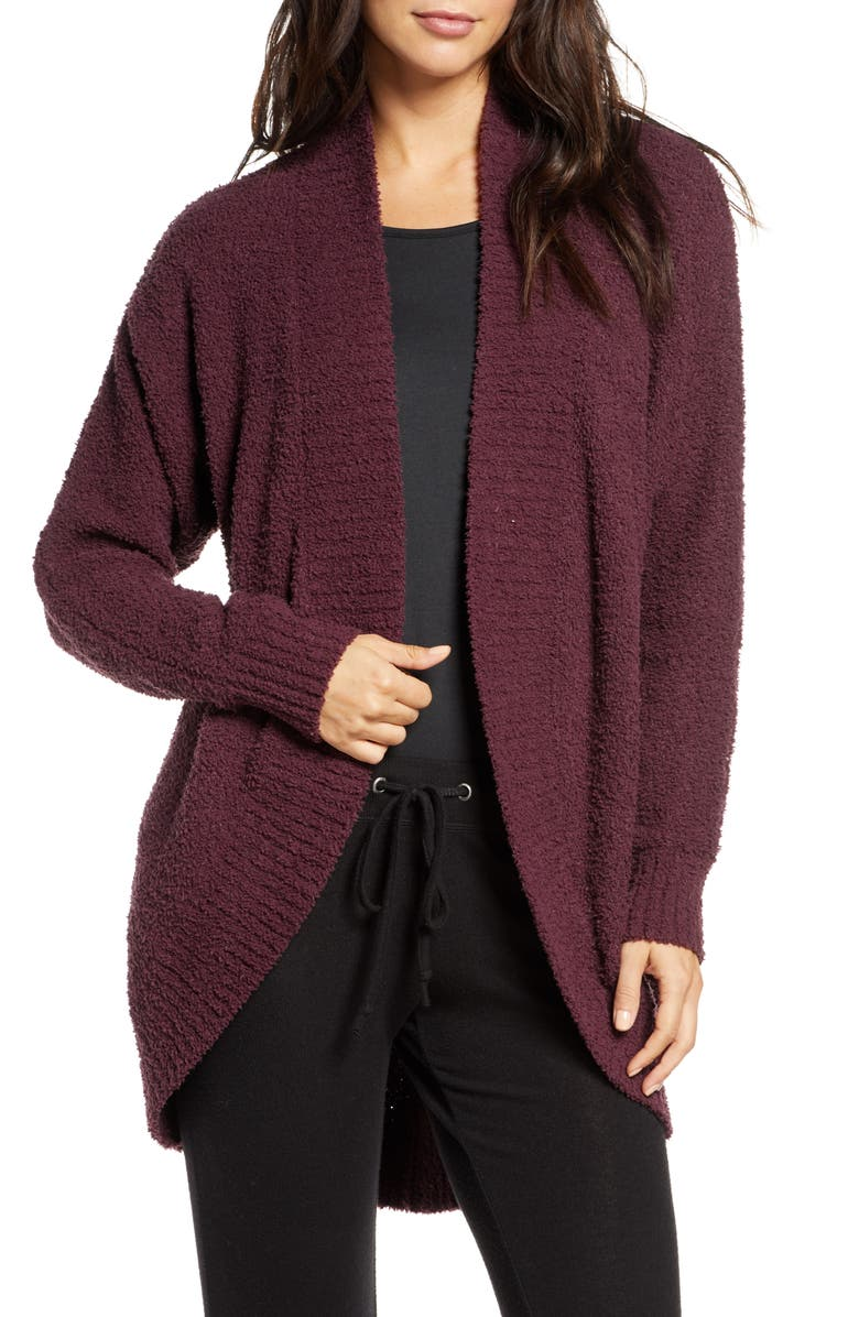 UGG<SUP>®</SUP> Fremont Circle Cardigan, Main, color, DEEP PORT
