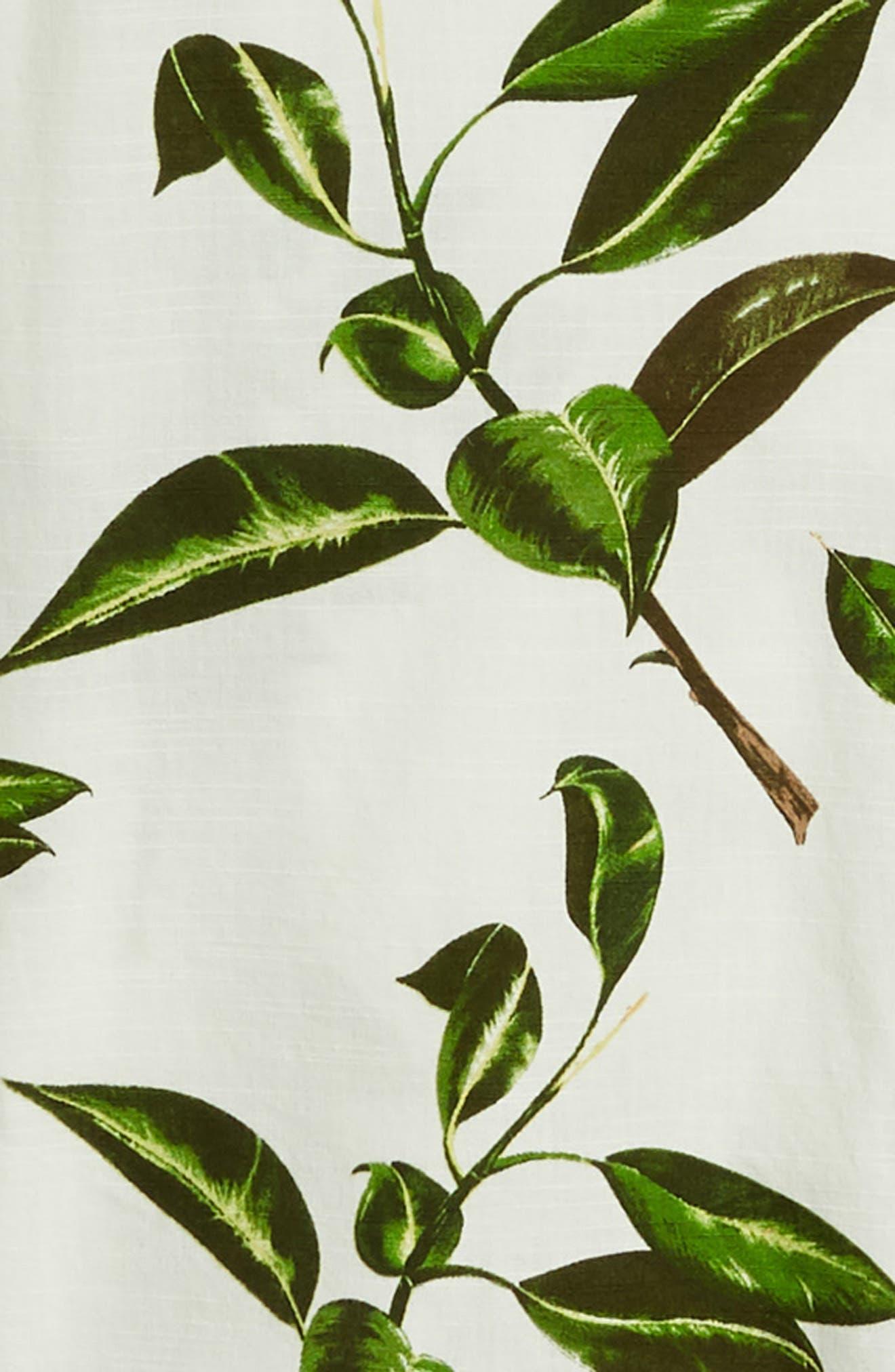 ,                             Rubber Co. Tree Print Woven Shirt,                             Alternate thumbnail 6, color,                             RUBBER FLORAL