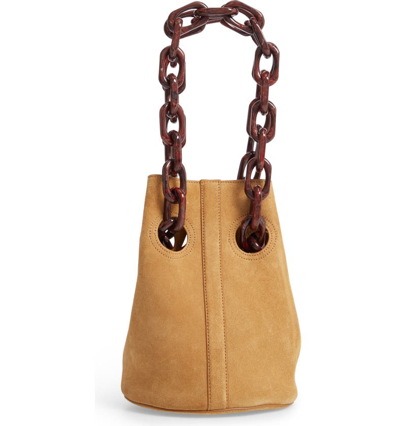 TRADEMARK Goodall Leather Bucket Bag, Main, color, 250