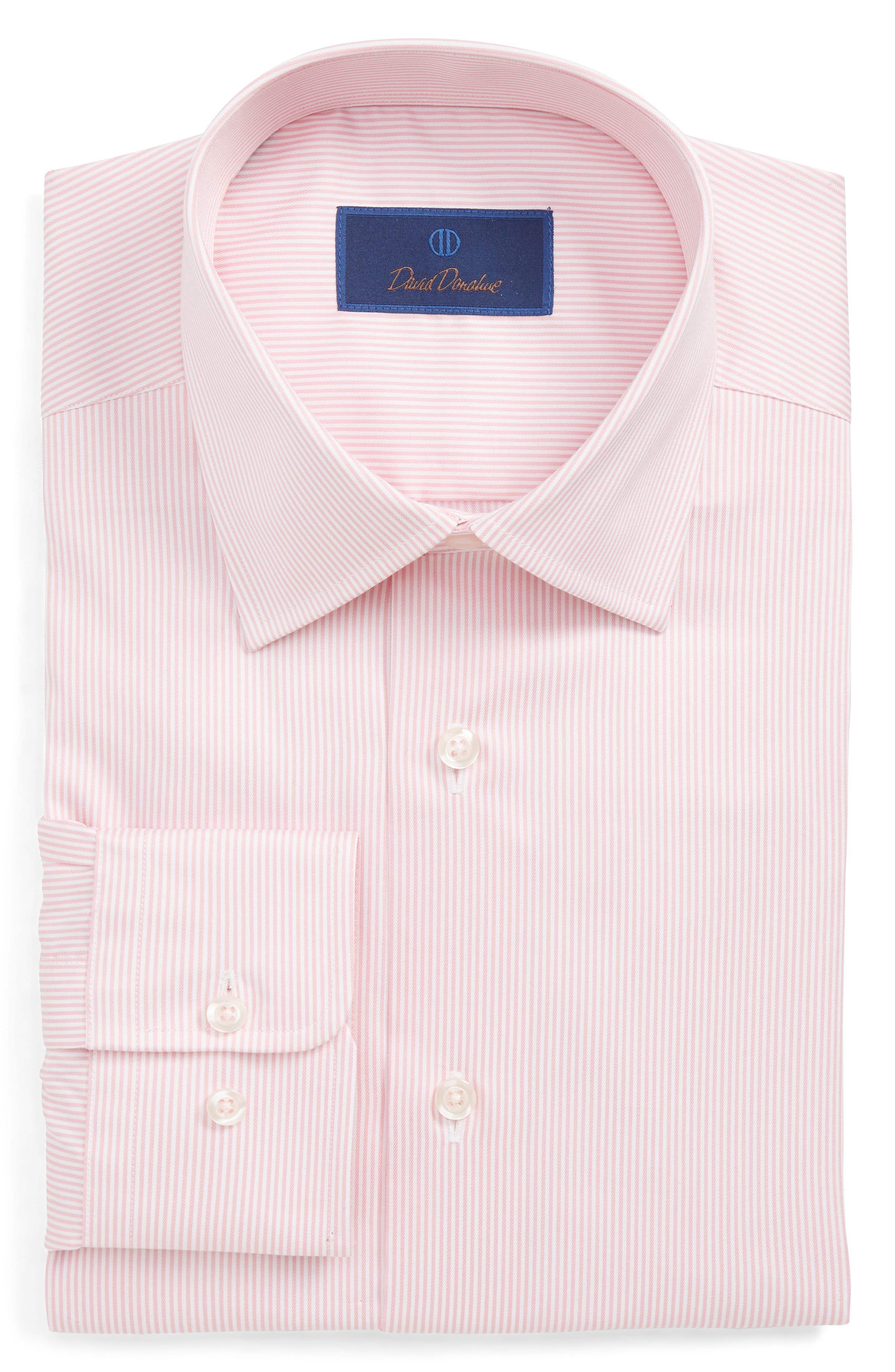 ,                             Regular Fit Stripe Dress Shirt,                             Main thumbnail 3, color,                             650