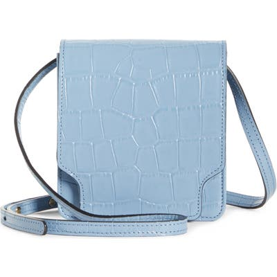 Marge Sherwood Pump Slim Leather Convertible Crossbody Belt Bag -