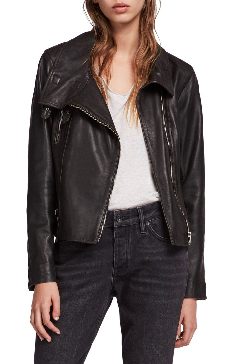 select for original best cheap where can i buy Bales Leather Biker Jacket