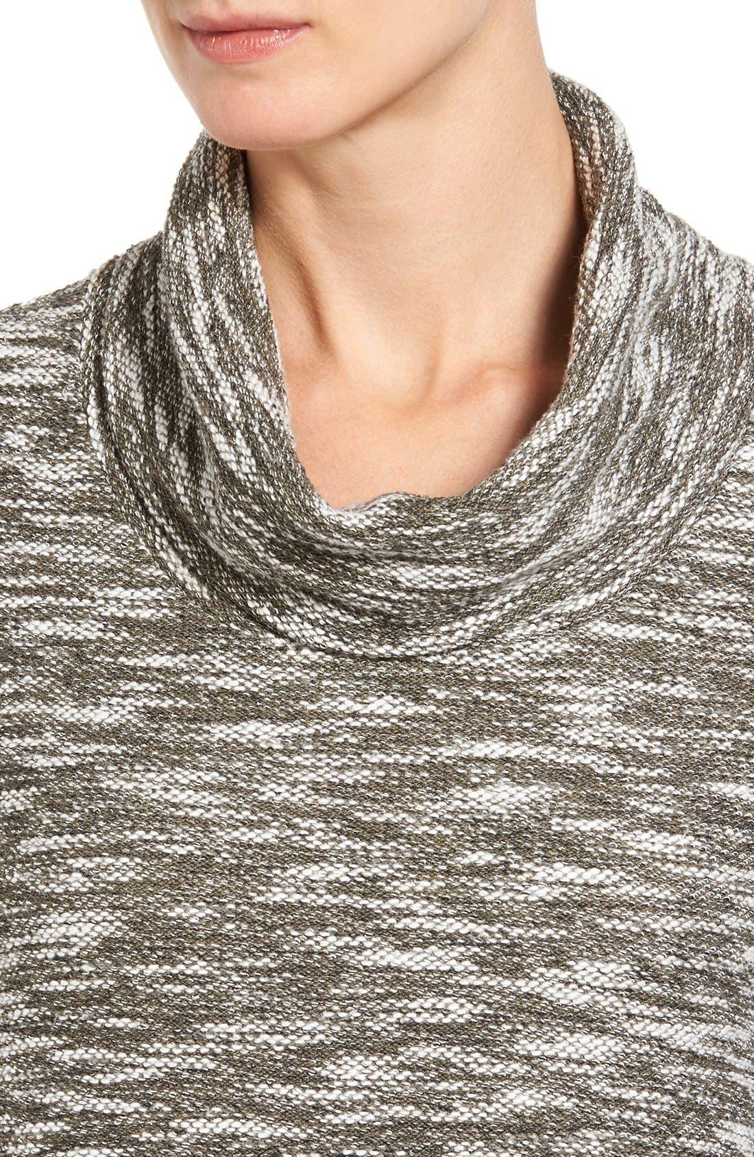 ,                             Knit Cowl Neck Tunic,                             Alternate thumbnail 5, color,                             315