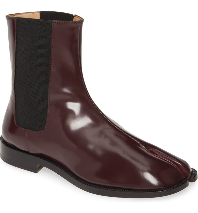 MAISON MARGIELA Tabi Male Chelsea Boot, Main, color, POTENT PURPLE