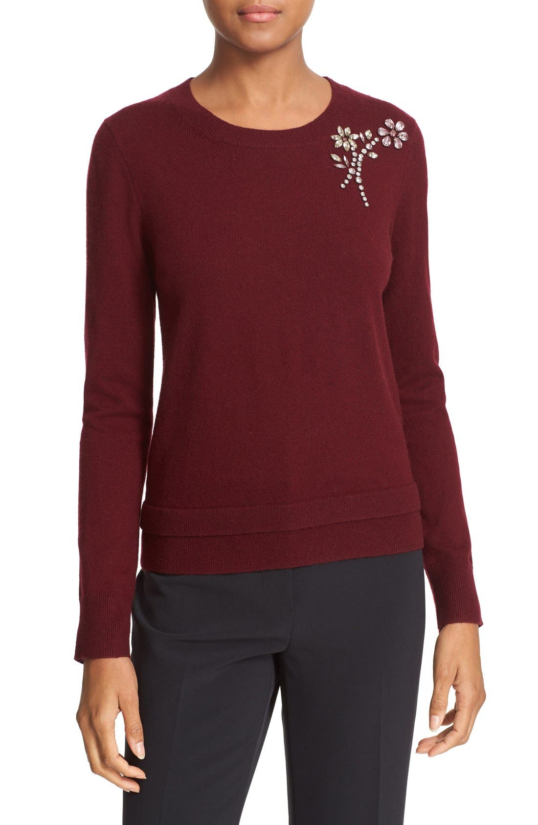 ,                             embellished sweater,                             Main thumbnail 16, color,                             930