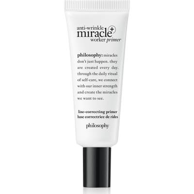 Philosophy Anti-Wrinkle Miracle Worker Primer + Line-Correcting Primer -