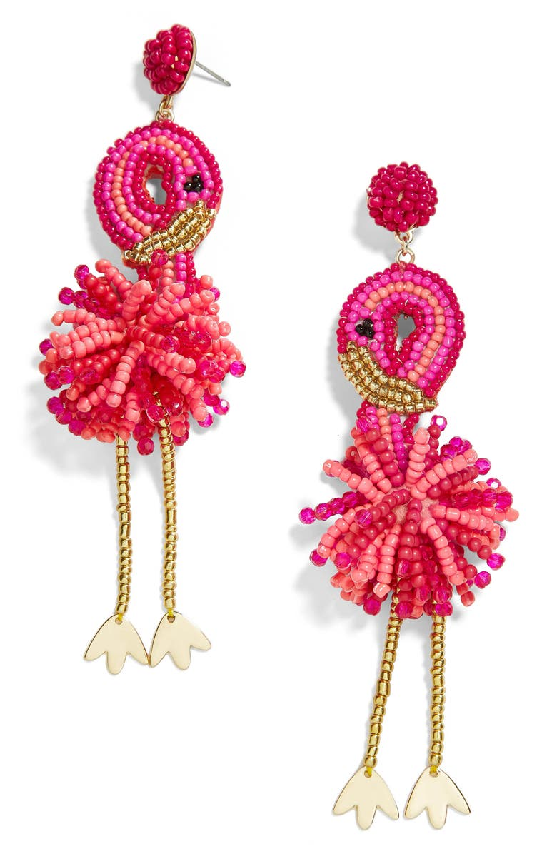 BAUBLEBAR Fantasia Laguna Drop Earrings, Main, color, PINK