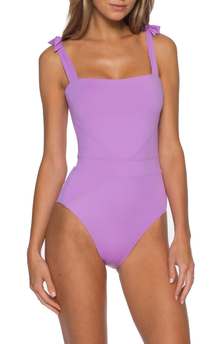 BECCA Color Code One-Piece Swimsuit, Main, color, LILLI