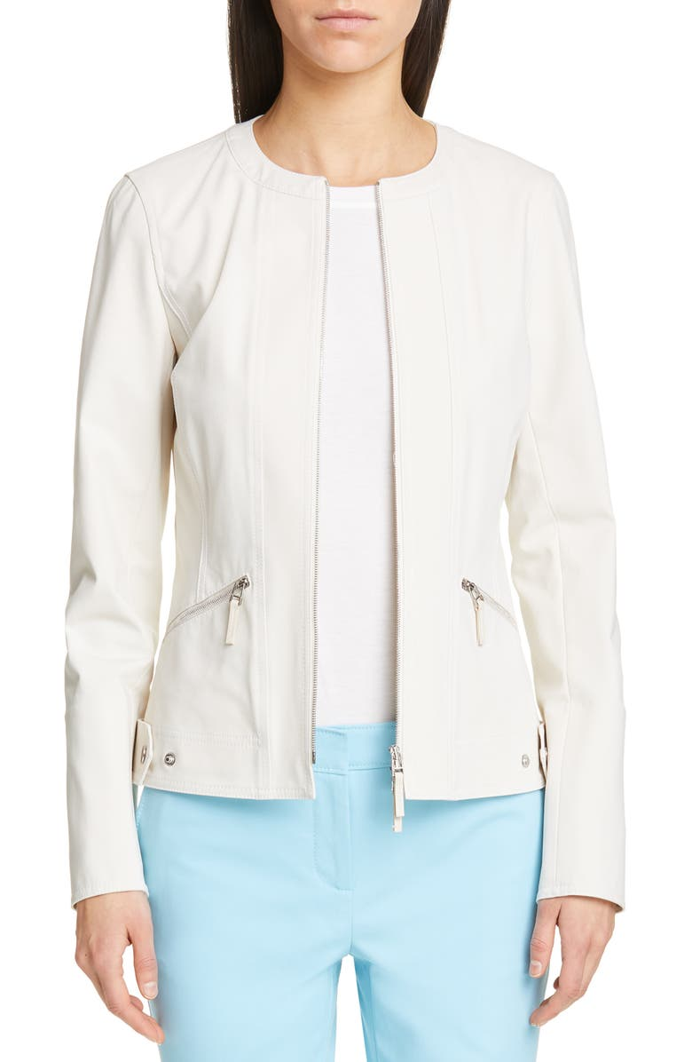 LAFAYETTE 148 NEW YORK Cairo Jacket, Main, color, 100
