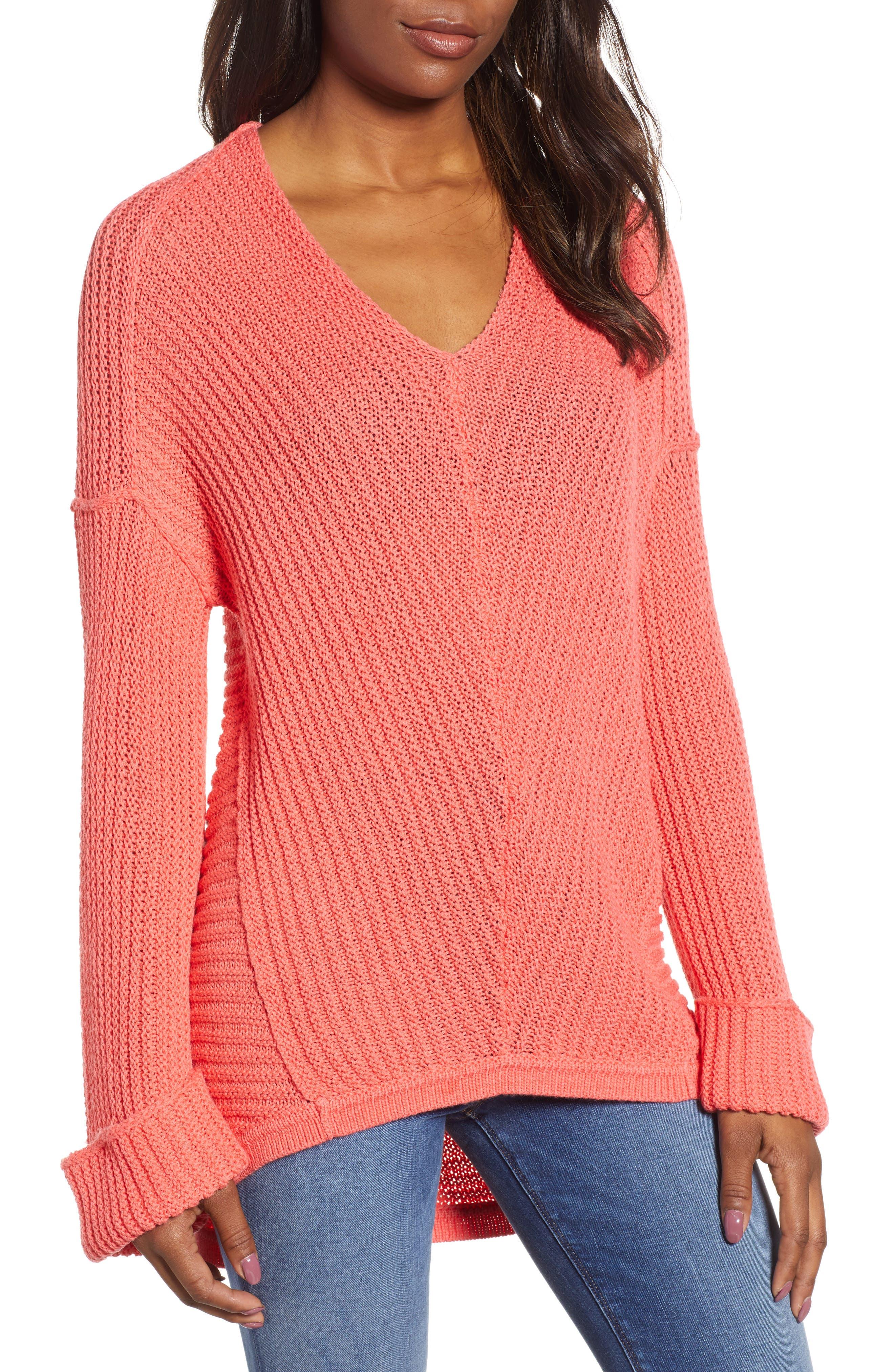 ,                             Cuffed Sleeve Sweater,                             Main thumbnail 49, color,                             958