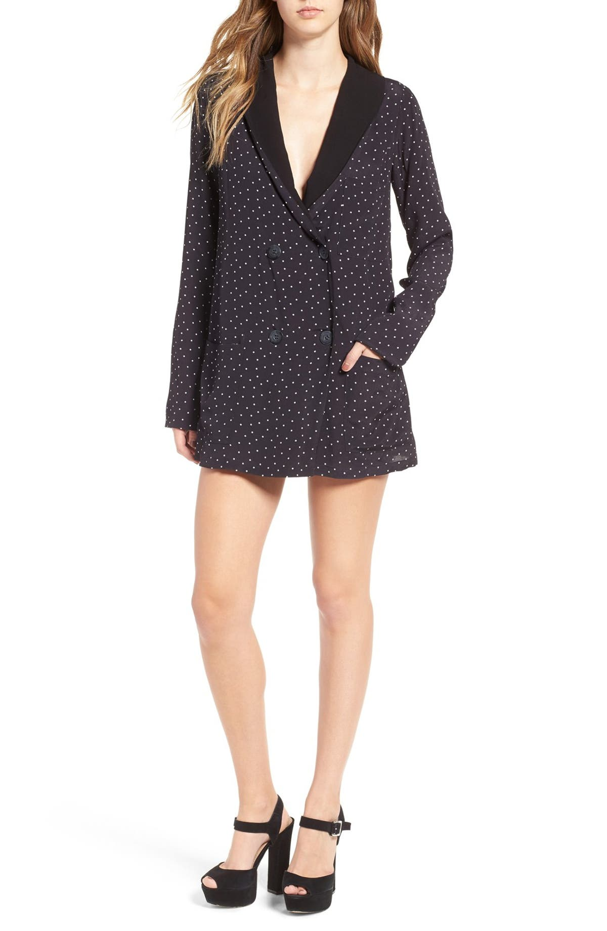 15decb2d3f6b4 For Love & Lemons Bianca Blazer Dress | Nordstrom