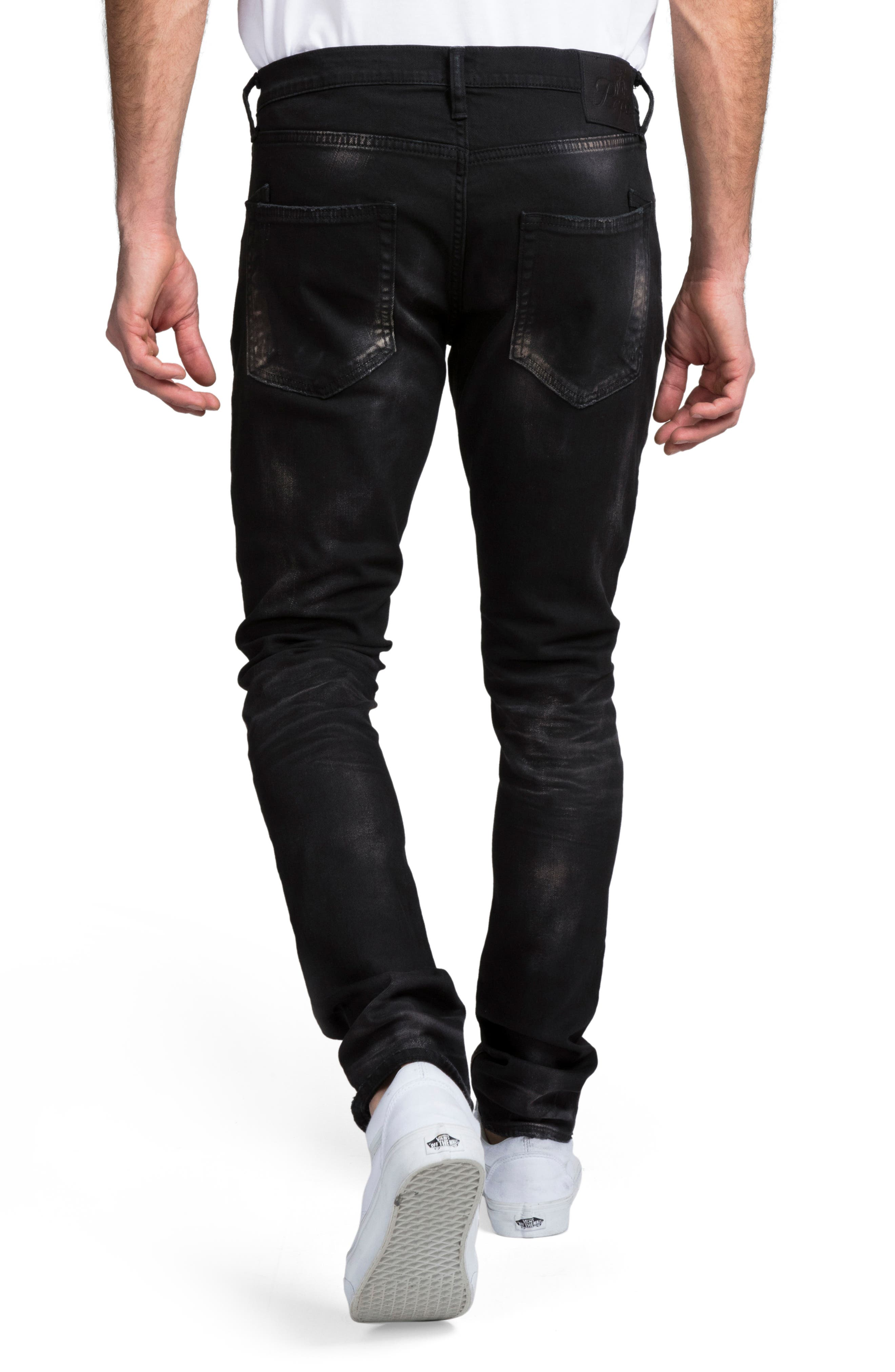 ,                             Windsor Slim Fit Jeans,                             Alternate thumbnail 2, color,                             BLACK