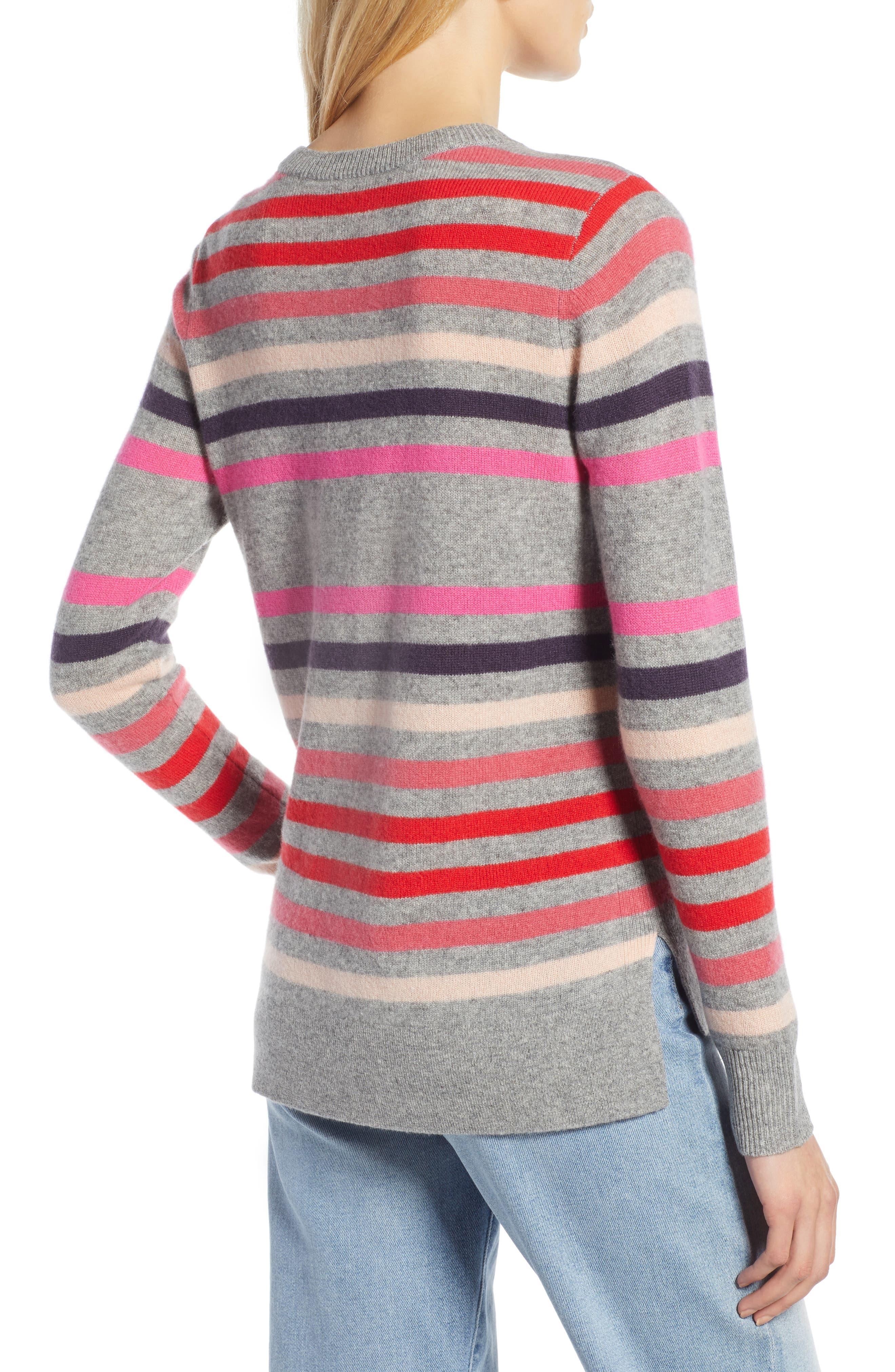 ,                             Crewneck Cashmere Sweater,                             Alternate thumbnail 44, color,                             032