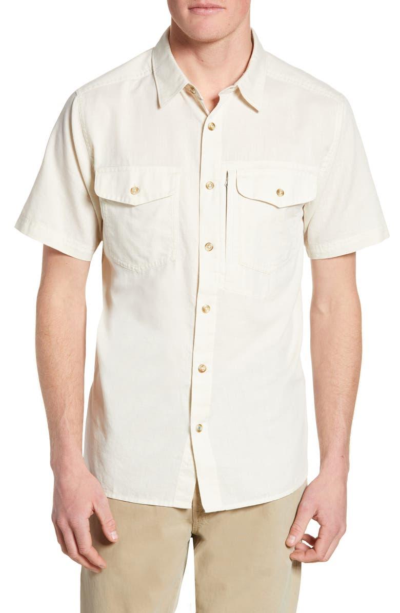 PATAGONIA Cayo Largo II Regular Fit Shirt, Main, color, CHAMBRAY/ PELICAN